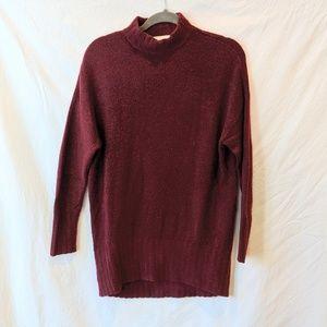 Monki Burgundy Tunic OR Sweater Dress Small